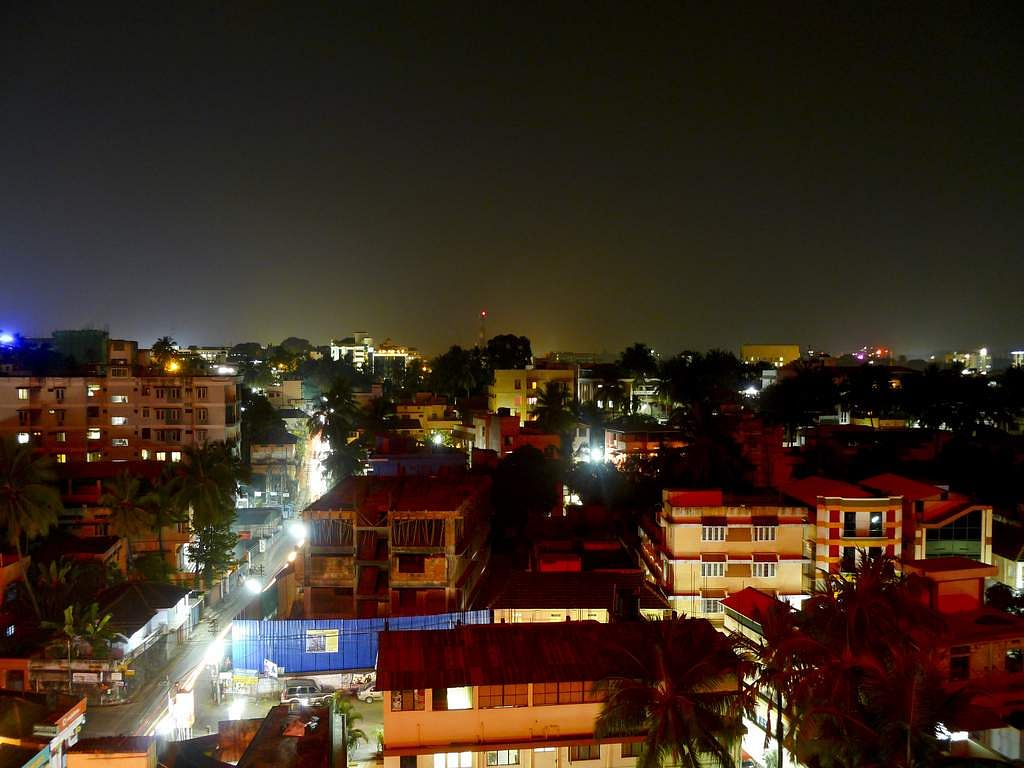 Trivandrum_Night_view
