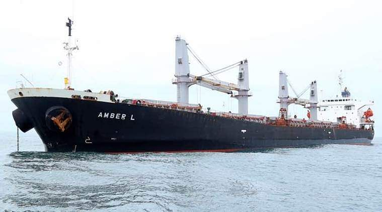 panama-cargo-ship- amber