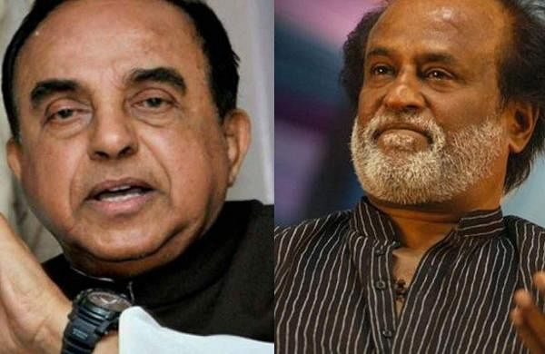 Subramanian-Swamy_Rajinikanth