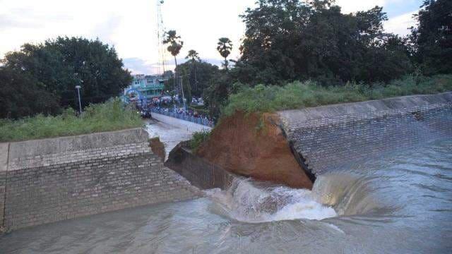 Pump_canal_wall_broken_before_inauguration_in_kahalgoan_at_bhagalpur_1505852502