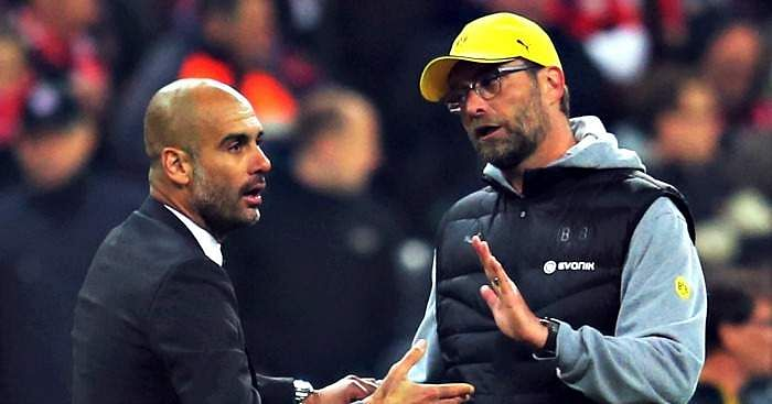 Pep-Guardiola-Jurgen-Klopp-Football365