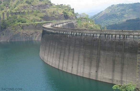 idukki-Arch-dam-from-top-view