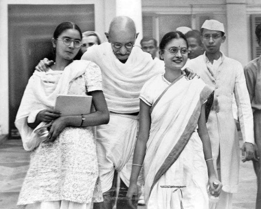 The-assassination-of-Mohandas-Gandhi