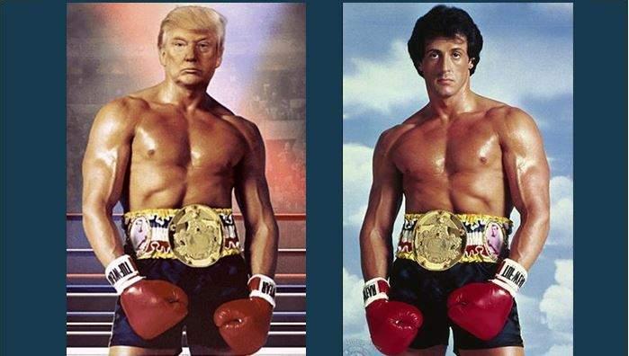 Trump-Stallone