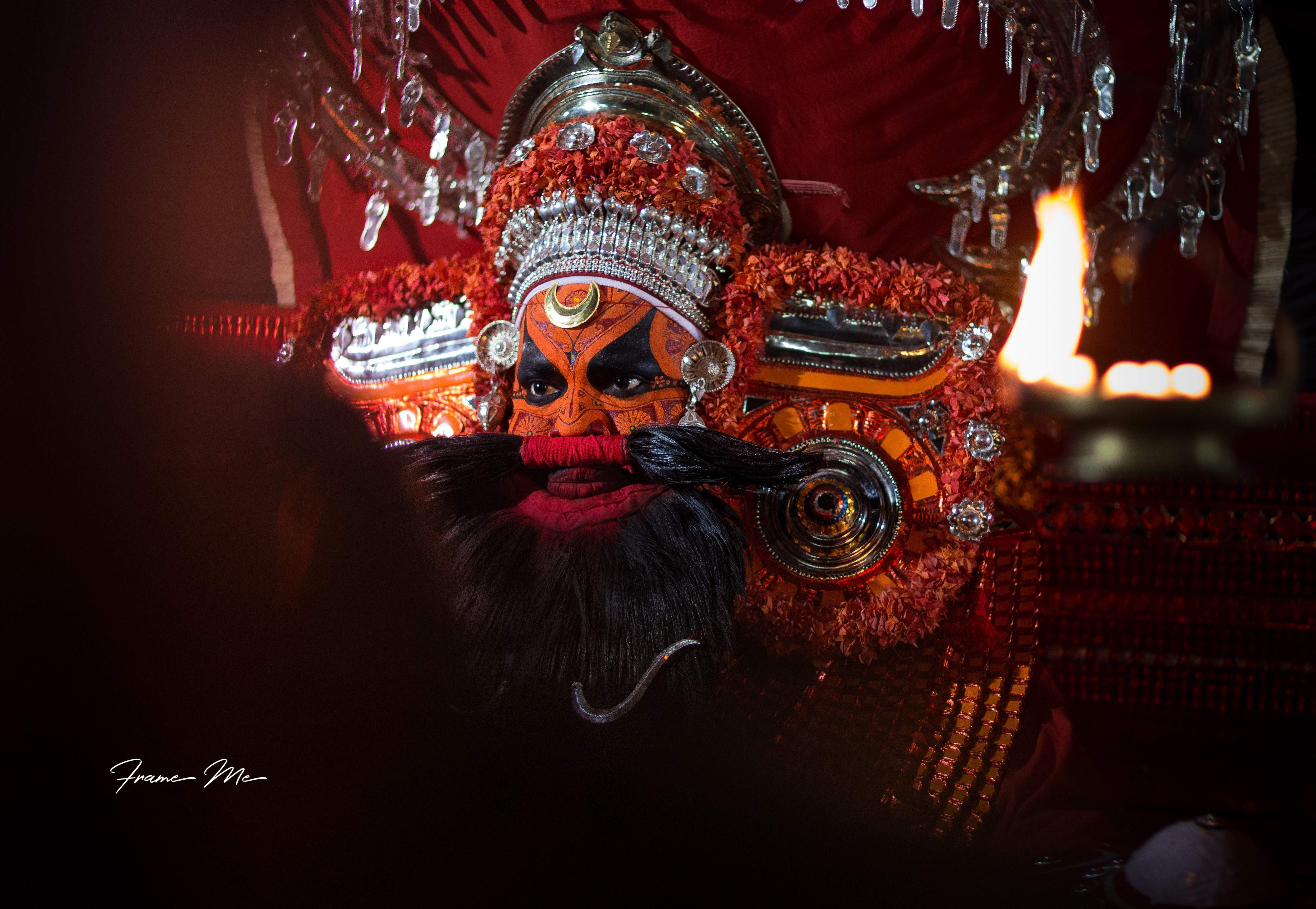 Kahethrapalakn_Theyyam
