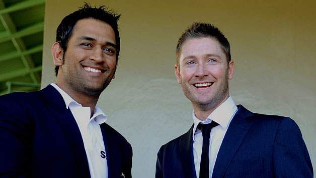 Michael-Clarke-and-MS-Dhoni