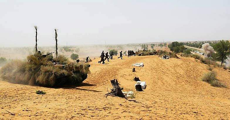 Indain-Army-Exercise
