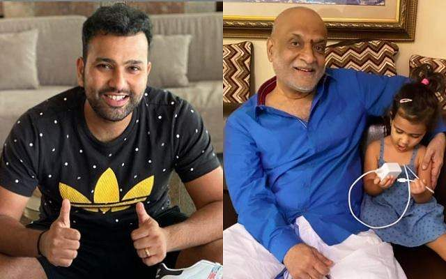 Rohit-Sharma-and-his-father