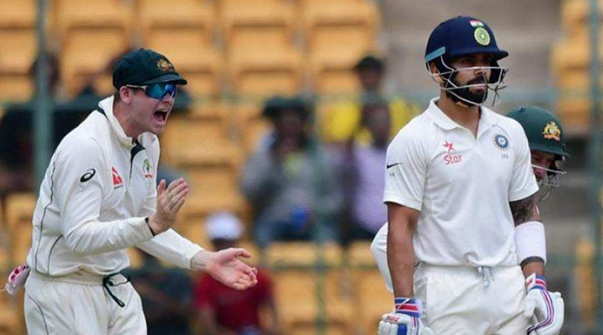 indian batsman virat kohli and steve smith