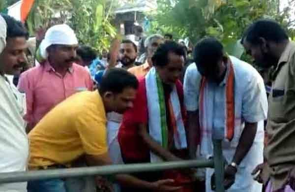 Panchayat member-elect keeps poll promise