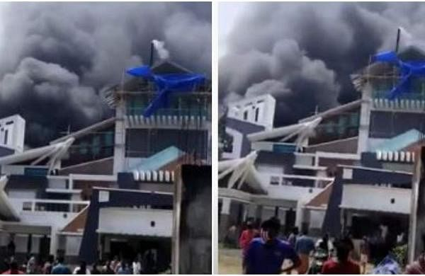 Fire at Paravur Anna Plastics Company