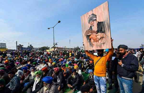 Farmers agitating against the central government's agricultural laws have started a relay hunger strike