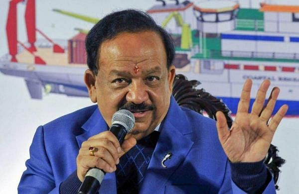 health minister harsh vardhan