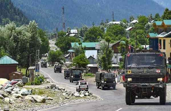 Attempts by Chinese troops to cross the border were resisted by Indian troops and locals