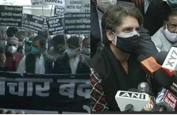 delhi congress march