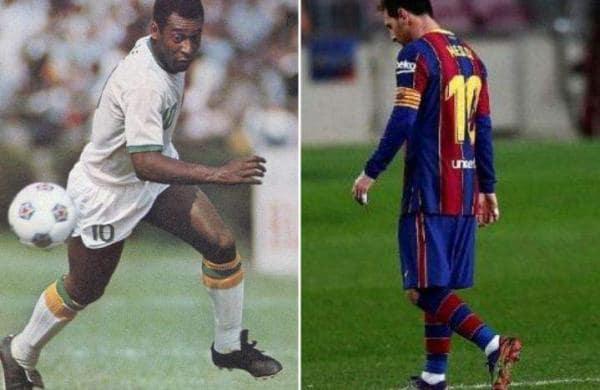 messi_pele football