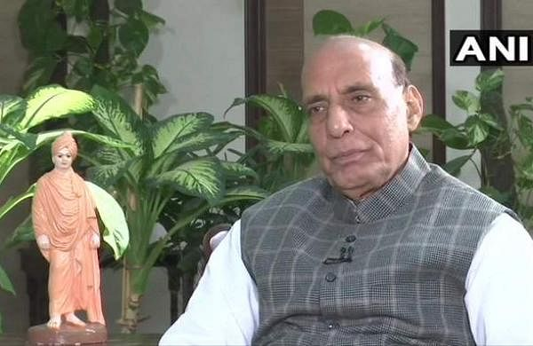 defence minister rajnath sing