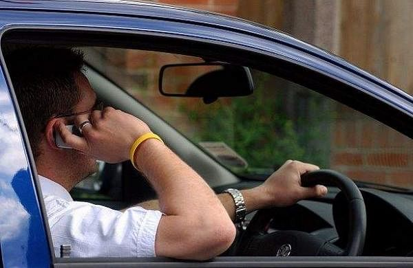 Driving-on-phone