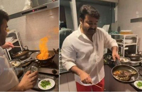mohanlal_cooking