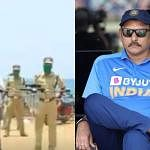 Kerala-Police-and-Ravi-Shastri