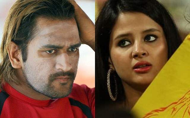 MS-Dhoni-and-his-wife-Sakshi