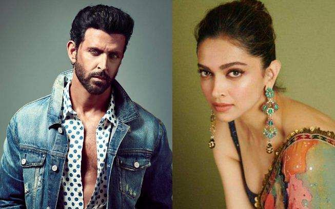 Hrithik Roshan and Deepika Padukone have teamed up for the first time