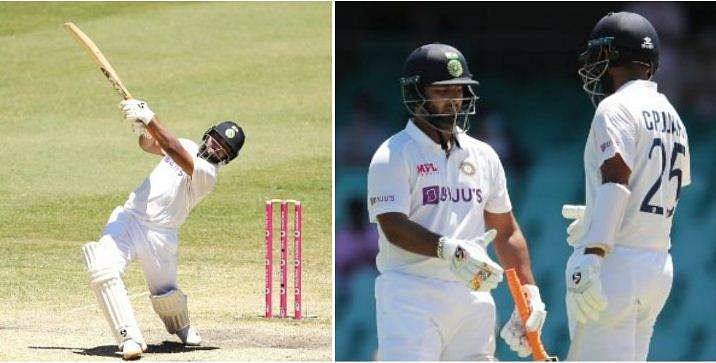 rishabh panth batting