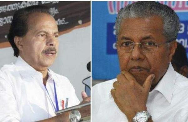 pt thomas and pinarayi vijayan