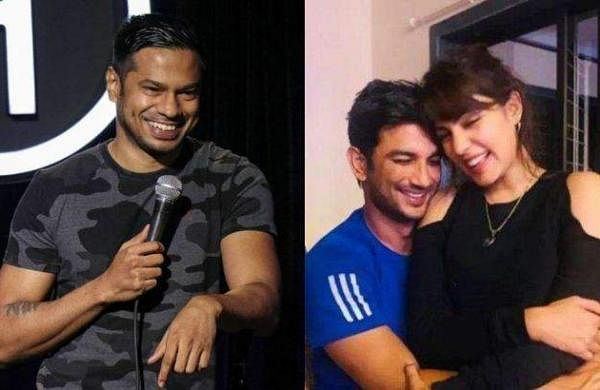 stand_up_comedian criticized by sushant's fan