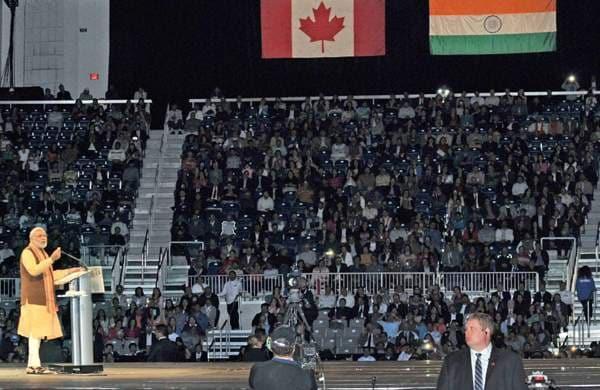 Indian diaspora in toronto