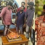 vijay_sethupathi cut birthday cake with sword