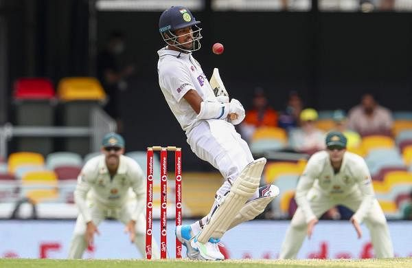 washington_sunder batting in brisbane test