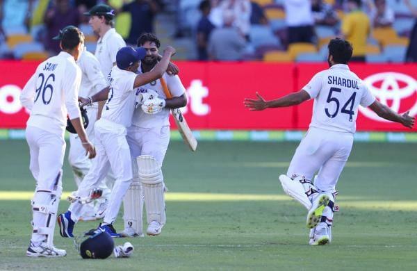 india won in brisbane