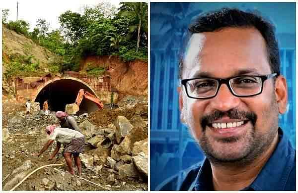 K Rajan has approached the High Court seeking immediate reopening of the tunnel to one side of thekuthiran