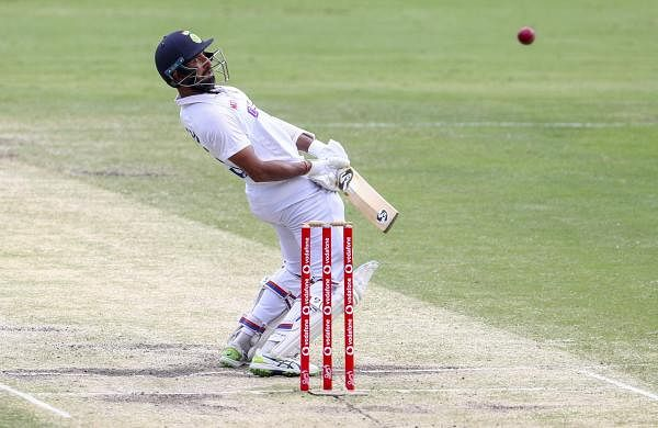 pujara_in_brisbane_test