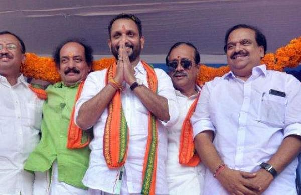 surendran and bjp leaders