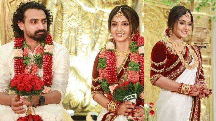 Athmiya Rajan gets married