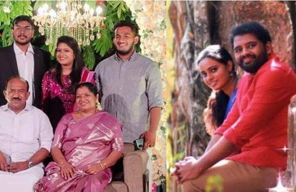 children of two ministers got married on same day