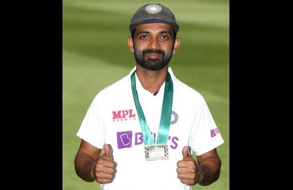 rahane developed some of his own techniques
