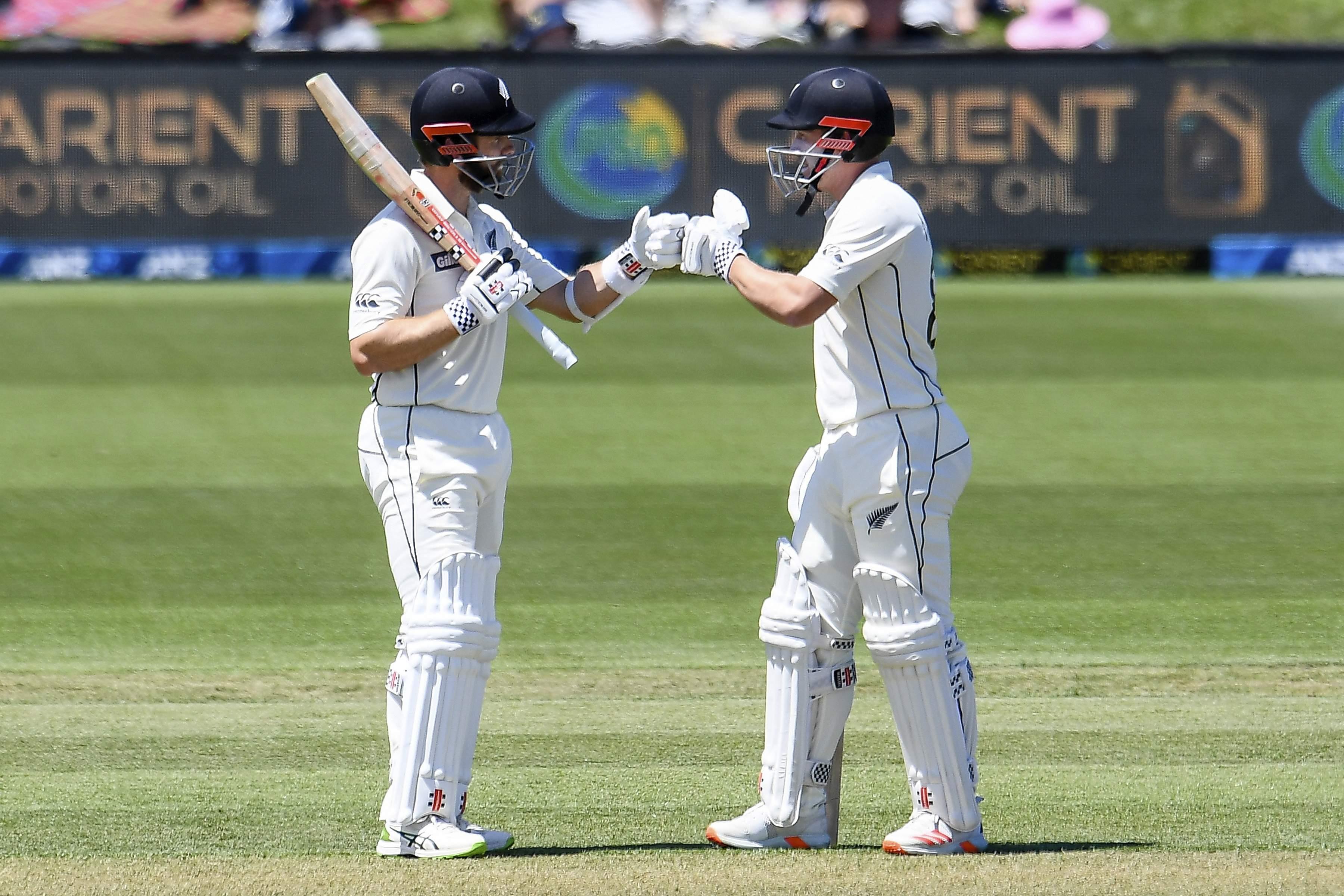 new zealand captain kane williamson and batsman henry