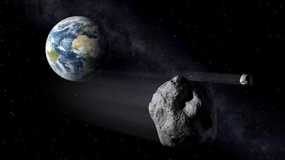 asteroids bigger than Eiffel Tower approach Earth