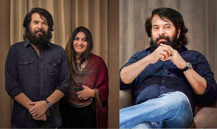 mammootty with wife sulfat