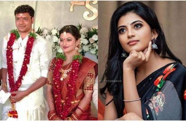 anandhi gets married