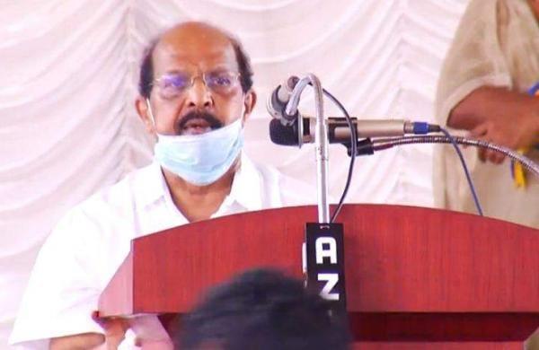 minister sudhakaran