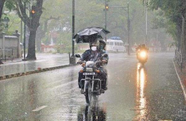 rainfall in kerala
