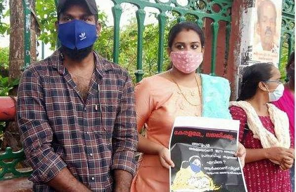 Hunger strike in front of Anupama's secretariat for baby