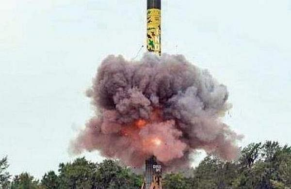 India successfully test-fires Agni-V missile