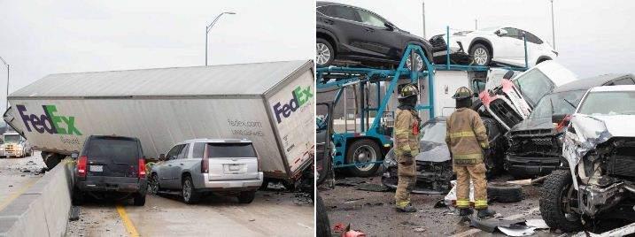 Shocking accident