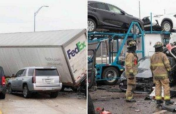 Shocking accident