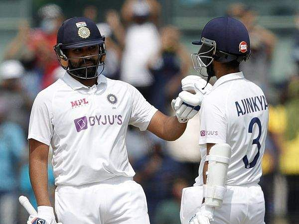 Rohit_and rahane at second test
